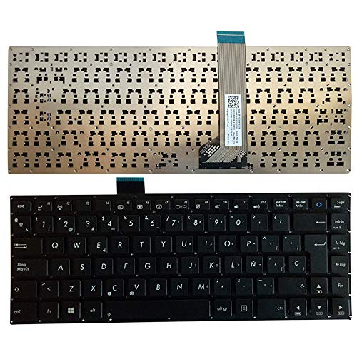 Laptop Replacement Keyboard Fit Asus S400 S400C S400CA S400E Spanish Layout