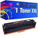 Tito-Express PlatinumSerie 1 Toner XXL kompatibel mit HP CF401X 201X Color Laserjet Pro M250 M252N M252DW M270 M274N M274DN MFP M277N M277DW M252 M270 M274 MFP M277 N DW| Cyan 2.300 Seiten