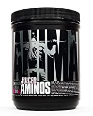 Recover smarter and faster with 6 grams of BCAA's and EAA's in an instantized post workout recovery cocktail. Most BCAA Powders only give you a mix of BCAA's but Animal Juiced Aminos gives you BCAA's plus EAA's for maximum recovery. Improve hydration...
