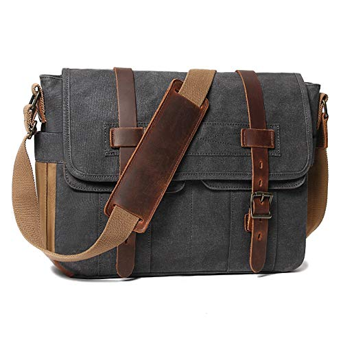 Messenger Bag for Men 15.6 Inch ...