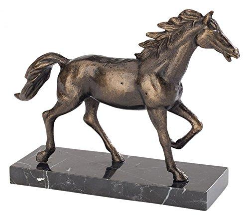 aubaho Skulptur Pferd 24cm Schreibtisch Statue Eisen Figur antik Stil Horse Iron