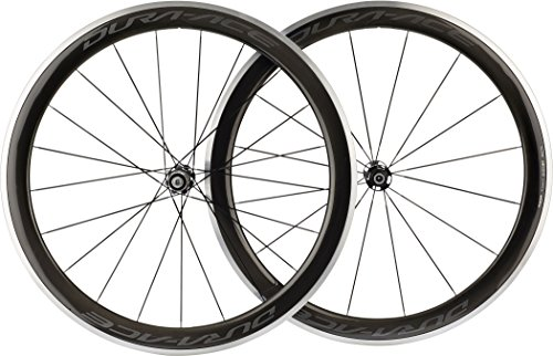 Shimano WH-9100 C60 Dura Ace Carbon Wheels Carbon Pair 700C - Clincher 60 mm deep rim, QR axle