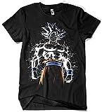 Camisetas La Colmena 4030 - Ultra Instinct Splatter (albertocubatas) S