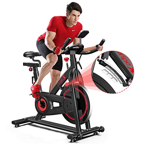 Dripex Indoor Cycling Magnetic Resistance Exercise Bike (2020 Upgraded Version),...