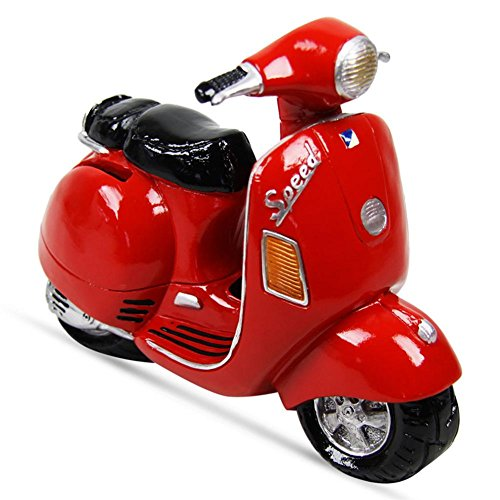 Udo Schmidt Spardose *Motorroller in rot*