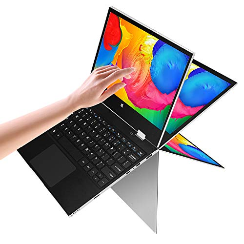 2 in 1 Laptop Jumper x1 Windows 10 Laptop FHD Touchscreen Display Laptop Computer 11.6 inch 6GB RAM 128GB ROM