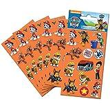 Paper Projects 9107083 Paw Patrol - Juego de pegatinas (6 hojas),...