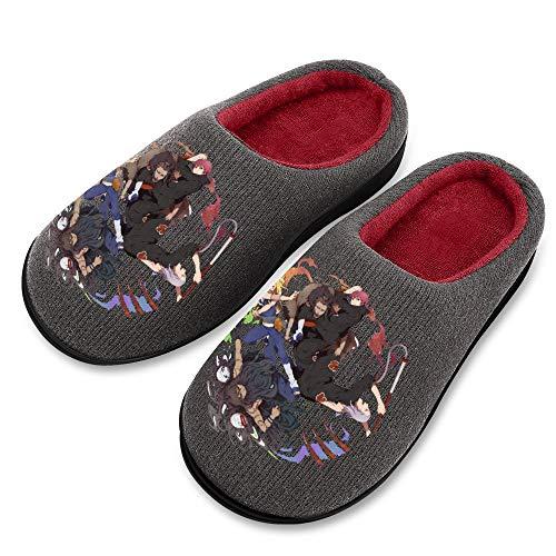 SVDziAeo Zapatillas de mujer N-aruto, cómodas, cálidas avanzadas, suelas antideslizantes en invierno