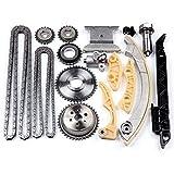 OCPTY Timing Chain Kit Tensioner Guide Rail Crank...