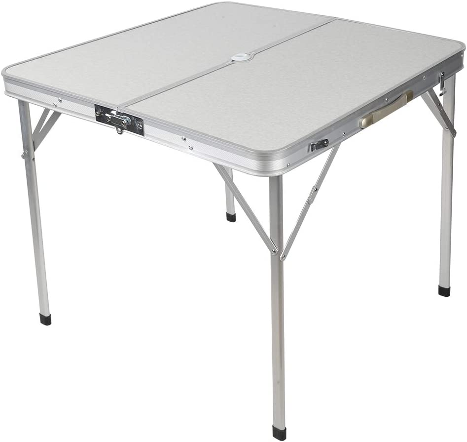 01 Folding Camping Max Opening large release sale 66% OFF Table Clea Easy Lightweight to