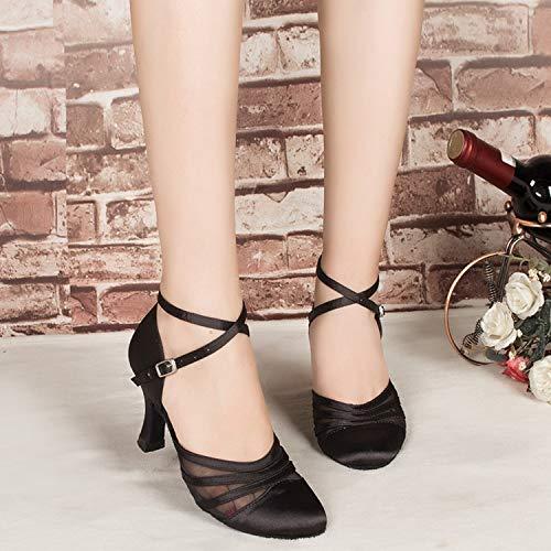Minitoo ,  Damen Tanzschuhe , Schwarz – schwarz – Größe: 36.5 - 2