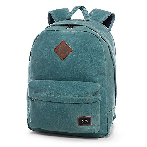 Vans OLD SKOOL PLUS BACKPACK Mochila tipo casual, 44 cm, 23 liters, Verde (Dark Forest)