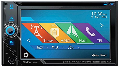 Clarion NX405 2-Din DVD Multimedia Station
