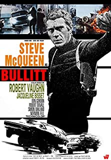 "Bullit - (24"" X 36"") Movie Poster"