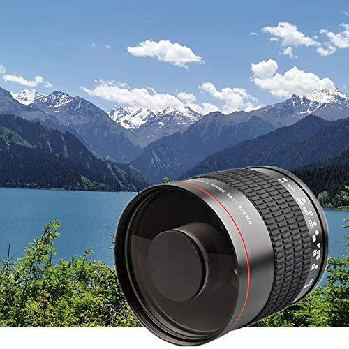 Lente de espejo de enfoque fijo manual F6.3 de 500 mm a...