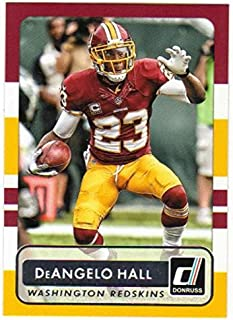 Football NFL 2015 Donruss #154 DeAngelo Hall NM-MT Redskins