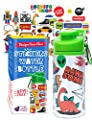 Purple Ladybug Decorate Your Own Water Bottle for Boys Craft Kit with Tons of Fun On-Trend Stickers - BPA Free Kids Water Bottle - Great Boy Gift Idea, Fun & Creative DIY Kids Arts & Crafts Activity from Purple Ladybug Novelty