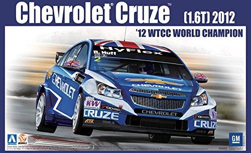 Aoshima 1/24 BEEMAX Serie No.05 Chevrolet Cruze (1.6T) '12 WTCC especificacioen campeoen del mundo