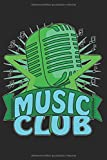 Mikrofon Noten MUSIC CLUB