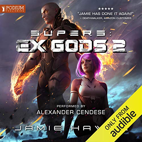 Supers: Ex Gods 2 audiobook cover art