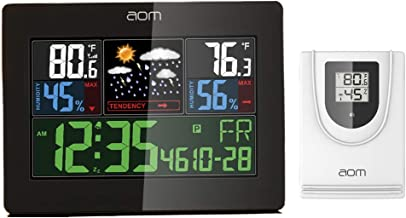 Best v10 th remote monitoring color weather station Reviews