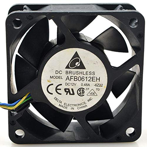 Miwaimao FOR Delta AFB0612EH 12V 0.48A 6025 6cm 6CM PWM Temperature Controlled Cooling Fan