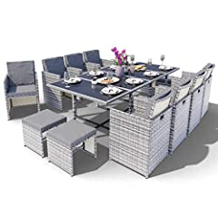Polyrattan Sitzgruppe