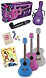 Daisy Rock Pixie Acoustic Guitar Starter Pack (Pink Sparkle)
