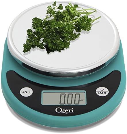 Ozeri ZK14-S Pronto Digital Multifunction Kitchen and Food Scale, Black, 8.25