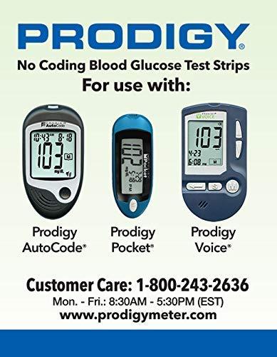 buy  Prodigy No Coding Blood Glucose Test Strips (50 ... Blood Test Strips