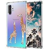 MOSNOVO Cute Designed for Samsung Galaxy Note 10 Plus Case/Galaxy Note 10 Plus 5G Case (2019) - Giraffe