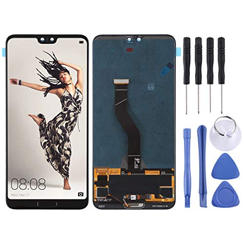 GoYisi Reparatie Onderdelen Vervangende LCD-scherm en Digitizer Volledige montage voor Huawei P20 Pro(Zwart), Zwart