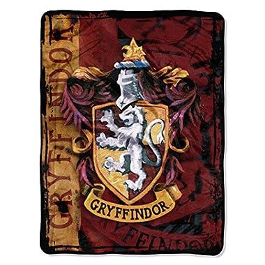 Harry Potter,  Battle Flag  Micro Raschel Throw Blanket, 46  x 60
