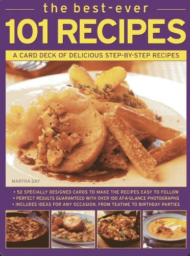 The Best-ever 101 Recipes: A Card Deck of Delicious Step-by-step Recipes (Cards in a Box) by Martha Day (2012-12-18)
