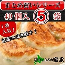 宝永ニラ餃子40個入(5袋)【製造元】ぎょうざの宝永