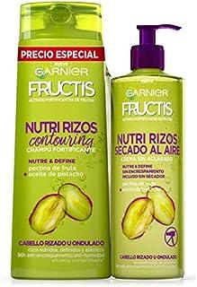 Fructis - Nutri rizos champú y crema de peinado