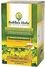 Buddha's Herbs Pure St John's Wort Flower Tea - (2 Pack)(44 Tea Bags) - 100 % Natural