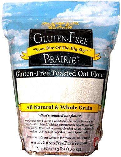Gluten-Free Prairie Toasted Oat Flour, Certified Gluten Free Purity Protocol, Non-GMO, Vegan, 3 Pounds