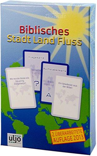 °° Kartenspiel Stadt-Land-Fluss - biblische Version