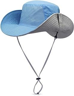 DORRISO Sombrero para el Sol UPF 50+ Vacaciones Viaje Selva Cámping Playa Gorro de Pesca Hombres Mujer, Unisexo Talla única 56-62CM