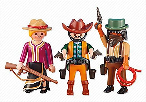 PLAYMOBIL Add-On Series - 2 Cowboys and Cowgirl