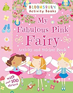 My Sparkly Pink Fairy Activity and Sticker Book (Activity Books for Girls)
