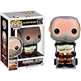 Funko Hannibal Lecter: The Silence of The Lambs x POP! Movies Vinyl Figure & 1 PET Plastic Graphical Protector Bundle [#025 / 03115 - B]