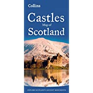 Castles Map of Scotland (Collins Pictorial Maps)