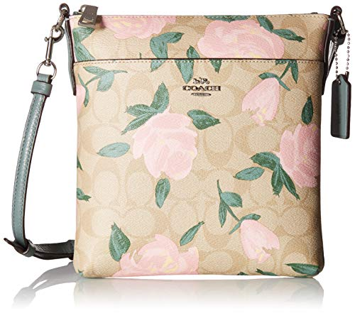 Please Note: COACH™ items cannot be shipped to military addresses (APO or FPO) and addresses in Hawaii, the Virgin Islands, Guam or any other locations outside of the continental US. The COACH® Camo Rose Messenger Crossbody handbag provides the excep...