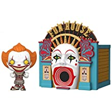 Funko Pop! Town: It 2 - Demonic Pennywise with Funhouse, Multicolor, 5 inches
