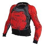 Unik Peto integral con protecciones de espuma Negro/Rojo Talla XL