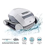 Dolphin E10 Automatic Robotic Pool Cleaner with Easy to Clean Top Load Filter Basket Ideal for Above Ground Swimming...