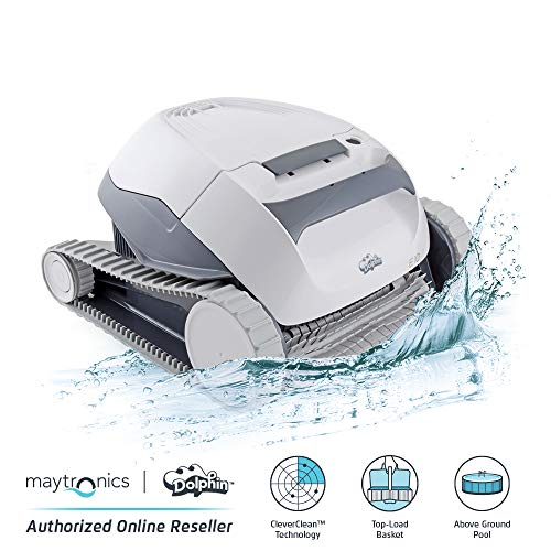 Dolphin E10 Automatic Robotic Pool Cleaner for Above Grounds