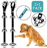 2 Pack Dog Doorbells Premium Quality Training Potty Great Dog Bells Adjustable Door Bell Dog Bells for Potty...